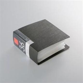 バッファロー BSCD01F36BK(ブラック) CD/DVDファイルケース ブックタイプ 36枚収納