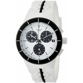 [スウォッチ]SWATCH 腕時計 Chrono Plastic(クロノ・プラスチック) PISTE NOIRE(ピステ・ノワール) SUSW407 メンズ 【並行輸