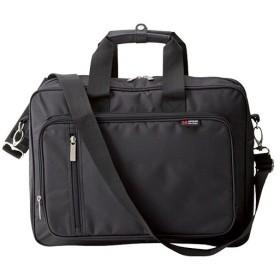 メンズ ビジネスバッグ(パソコン対応) ブラック バッグ カバン 鞄 かばん プレゼント