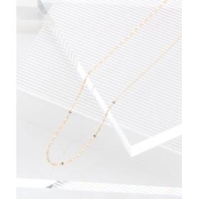 (PAS TIERRA/パティエラ)【レイ】K10ペタルネックレス/ [.st](ドットエスティ)公式