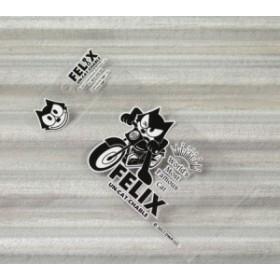 フィリックス・ザ・キャット ステッカー 車 バイク ヘルメット アメリカン フィリックス グッズ 転写タイプ Wink_SC-KGAZF430WK-MON