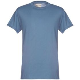 《期間限定セール開催中!》CORELATE メンズ T シャツ ブルーグレー S コットン 100%