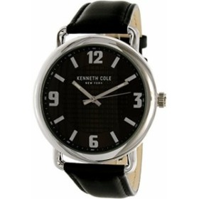Kenneth Cole Watches Men &aposs Classic Watch (ブラック)
