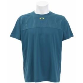 オークリー(OAKLEY)ENHANCE SLANT GRA CREW Tシャツ 457722-9PE (Men's)