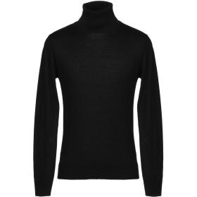 《期間限定セール開催中!》BRIAN DALES メンズ タートルネック ブラック XL ウール 100%