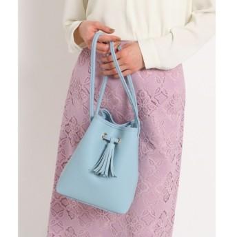AG by aquagirl エージー バイ アクアガール タッセル付きキューブ巾着バッグ