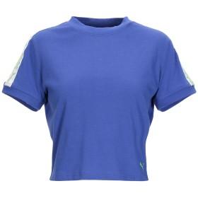 《期間限定セール開催中!》FENTY PUMA by RIHANNA レディース T シャツ ブライトブルー 8 コットン 100% SS CROPPED TEE