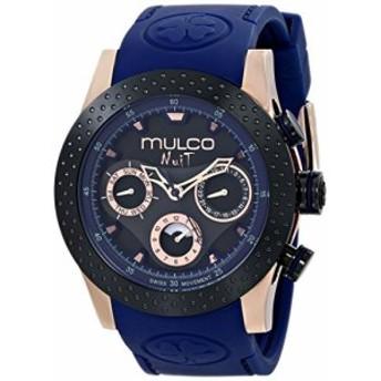 Mulcoユニセックスmw51962445アナログ表示SwissクオーツブルーWatch