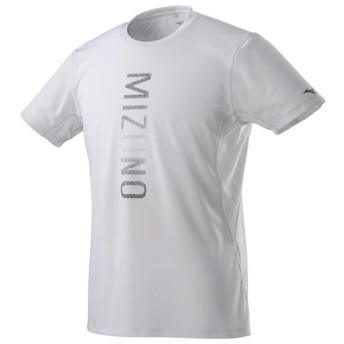 MIZUNO SHOP [ミズノ公式オンラインショップ] ジャカードTシャツ[メンズ] 01 ホワイト J2MA9017
