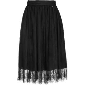 《期間限定セール開催中!》BLUGIRL BLUMARINE レディース 7分丈スカート ブラック 38 ナイロン 100%