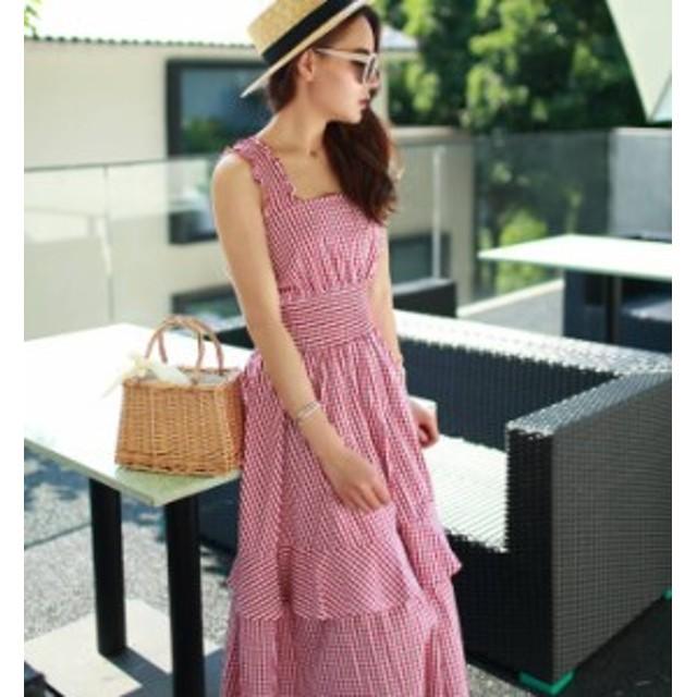 韓国 ファッション レディース ワンピース 夏 カジュアル 韓国 オルチャン ワンピース オルチャン ファッション ワンピース キャミワンピ