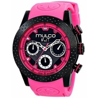 Mulcoユニセックスmw51962058アナログ表示SwissクオーツPink Watch