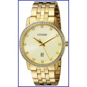 Citizen メッシュ・ミー・アップ クォーツ:バッテリー アナログ ドレス ウォッチ BI5032-56P