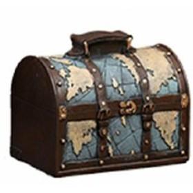df04f9341e お取り寄せ】オブジェ 貯金箱 ビンテージ風 トランク 旅行バッグ ...