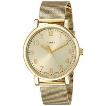 Timexユニセックスt2N598ab Originalsアナログ表示クオーツGold Watch