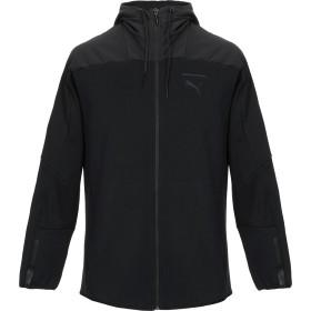 《期間限定 セール開催中》PUMA メンズ スウェットシャツ ブラック S コットン 66% / ポリエステル 34%