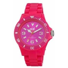 Ice - Watch Women s CF。PK。u.p.10Classic Fluo Pink Polycarbonate Watch