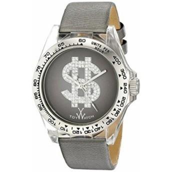 Toy Watchユニセックスd05gyアナログ表示クオーツGrey Watch