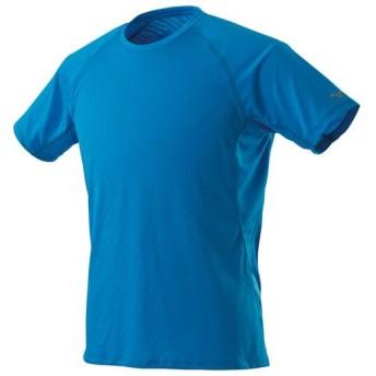 MIZUNO SHOP [ミズノ公式オンラインショップ] ジャカードTシャツ[メンズ] 24 ブリリアントブルー J2MA9015