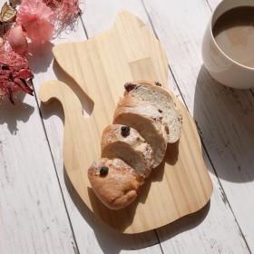 ☆ネコ4☆木製カッティングボード(パイン)