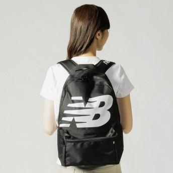 ニューバランス ロゴバックパック (JABL9403) 17L デイパック リュック : ブラック New Balance