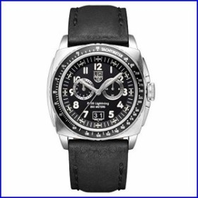 Luminox メンズ 9441 P-38 Lightning 9420シリーズ アナログ表示 アナログクォーツ ブラック 腕時計