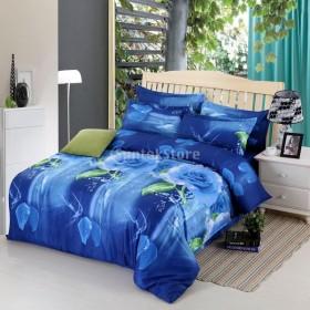 3D 布団カバー ベッドシーツ リネン 枕カバー ピローケース 寝具セット 10種類選べる - 6