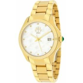 Jivago Womens JV3214W Analog Display Swiss Quartz Gold Watch