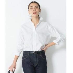S size ONWARD(小さいサイズ) / エスサイズオンワード 【中村アンさん着用】CANCLINI コットンツイルシャツ(検索番号F34)
