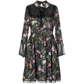 《セール開催中》BLUGIRL BLUMARINE レディース ミニワンピース&ドレス ブラック 38 ポリエステル 100% / ナイロン