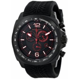 Swiss Legend Mens 21046-BB-01-RDA Sprinter Analog Display Swiss Quartz Black Watch