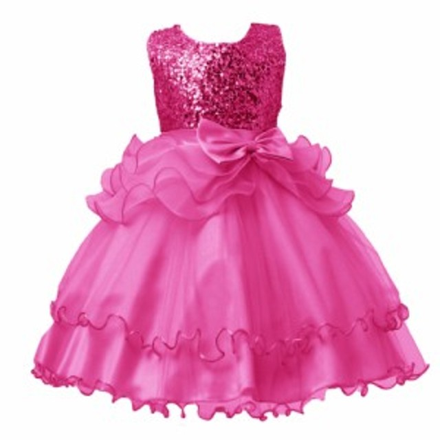 1bb14e11833c7 ジュニアドレス 子供ドレス 女の子 ワンピース フォーマル キッズ ピアノ発表会 パーティー 結婚式 七五三 お姫様