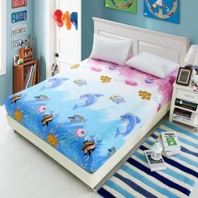 ベッドシーツ ベッドカバー マットレス 寝具 布 カバー キルト 全10色3サイズ選ぶ - #4, 120x200cm