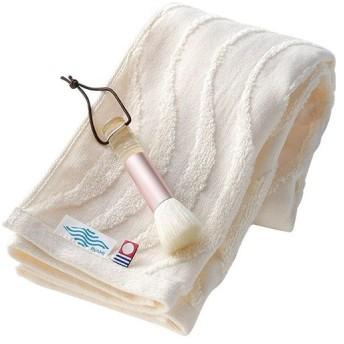 熊野筆洗顔ブラシ&今治タオルセット フェイスタオル ギフト 贈り物 プレゼント