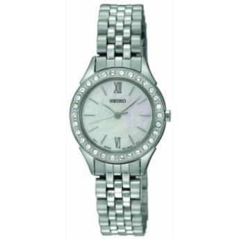 セイコー3針with Swarovski 〓 Crystals Women s Watch # sxgp27