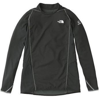 (セール)THE NORTH FACE(ノースフェイス)ランニング メンズ長袖Tシャツ L/SHYBRIDENDUROCREW NT61776 メンズ K