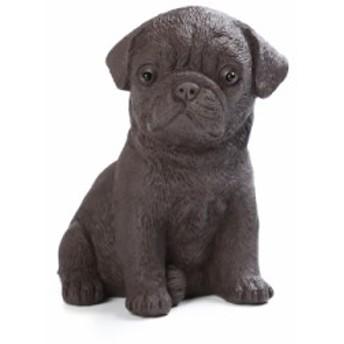 置物 茶寵 茶玩 中国茶道具 リアルな犬 パグ