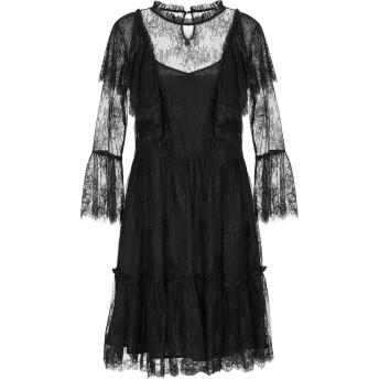 《セール開催中》BLUGIRL BLUMARINE レディース ミニワンピース&ドレス ブラック 38 ナイロン 100%