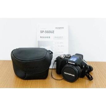 【中古】OLYMPUSオリンパス デジタルカメラ 800万画素 SP-560UZ ブラック