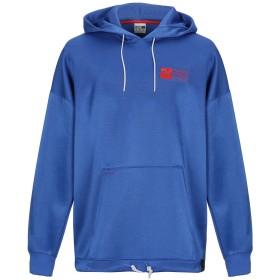 《期間限定 セール開催中》PUMA メンズ スウェットシャツ ブルー S ポリエステル 67% / コットン 33% / ポリウレタン