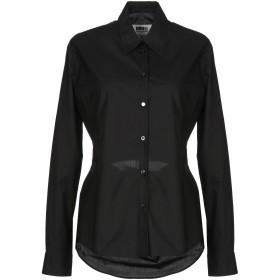 《セール開催中》MM6 MAISON MARGIELA レディース シャツ ブラック 44 コットン 100%