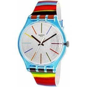 [スウォッチ]SWATCH 腕時計 New Gent(ニュー・ジェント) COLORBRUSH(カラーブラッシュ) SUOS106 メンズ 【並行輸入品】