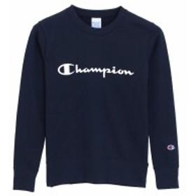 チャンピオン:【レディース】クルーネックスウェットシャツ【Champion カジュアル パーカー】