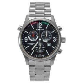 Junkers - 6296M2 - Montre Homme - Quartz Chronographe - Chronom〓tre/Alarme/Aiguilles - Bracelet Titane Argent