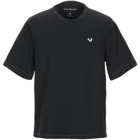 《期間限定セール開催中!》TRUE RELIGION メンズ スウェットシャツ ブラック S コットン 100%