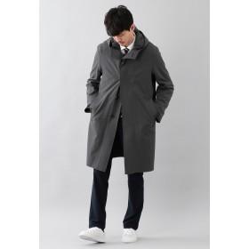 MACKINTOSH PHILOSOPHY 【britec】 BR605 2WAYダブルクロス フーデッドコート その他 コート,チャコールグレー