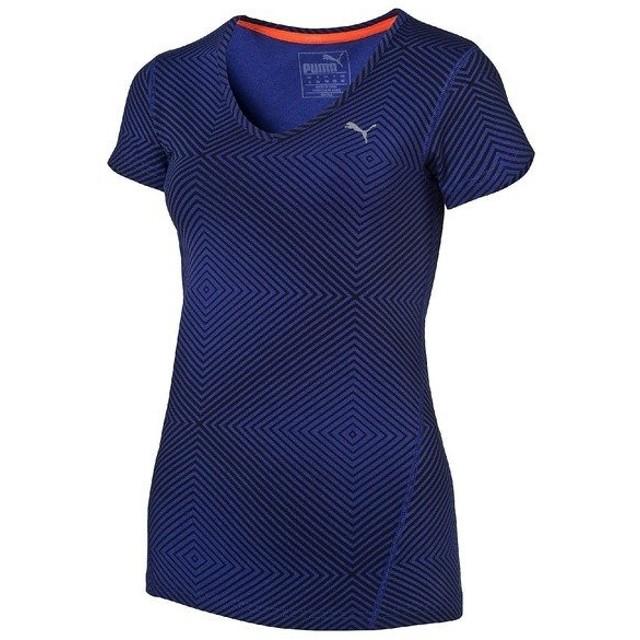 (セール)PUMA(プーマ)レディーススポーツウェア ワークアウトTシャツ TOPS グラフィック SS TEE Z 514876-03 レディース 3