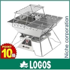 ロゴス LOGOS The ピラミッドTAKIBI L コンプリート 81064166 キャンプ用品 焚火台