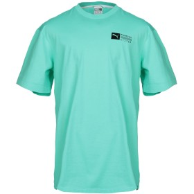 《期間限定 セール開催中》PUMA メンズ T シャツ ライトグリーン M コットン 100%