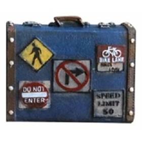 e07dc01a09 【お取り寄せ】オブジェ 貯金箱 ビンテージ風 レトロなトランクケース 旅行バッグ型 (ブルー) 通販 LINEポイント最大1.0%GET |  LINEショッピング【公式】